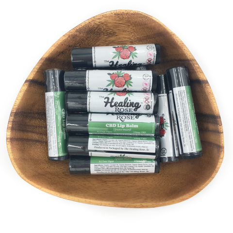 Spearmint CBD Lip Balm (10mg CBD)