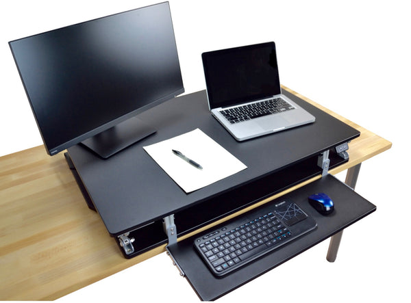 Black Powder Attollo Desk, perfect for sitting and standing