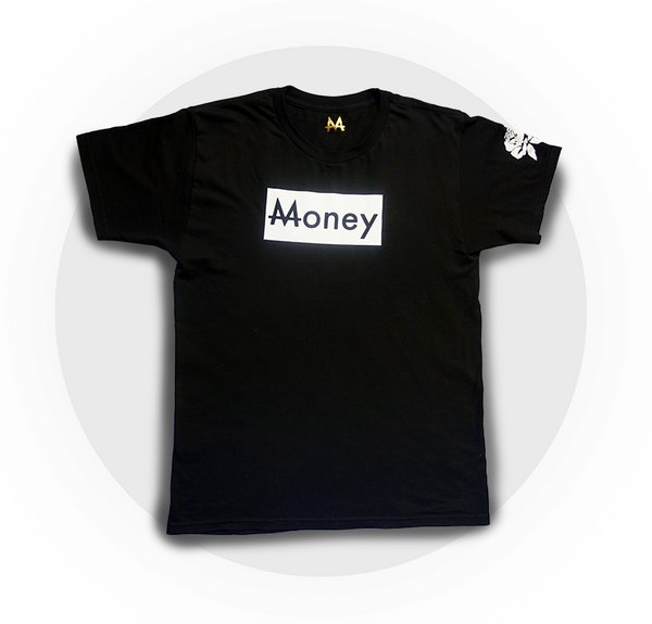 Money Tee | Blk. | Yin