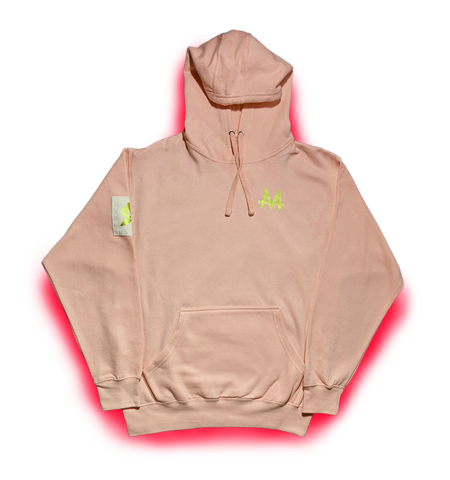 Money Hoodie | Pink | 24k Gold | Red Label Collection - Money by Mark, Hoodie