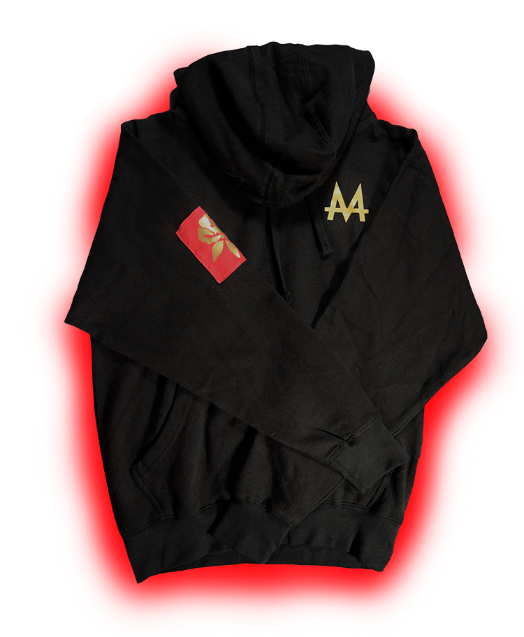 Money Hoodie | Black | 24k Gold | Red Label Collection - Money by Mark, Hoodie