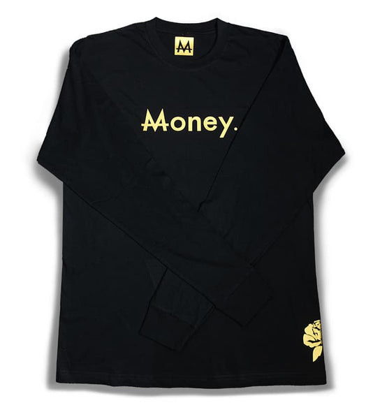 Long sleeve Money | Black | 24k Gold - Money by Mark, Shirt