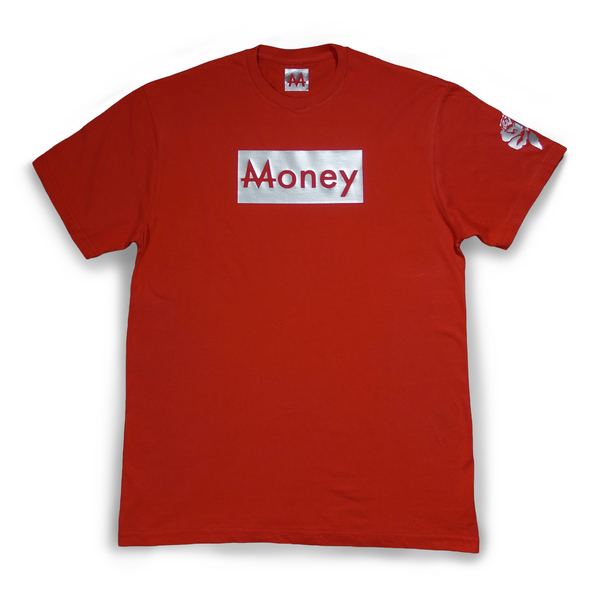 Money Tee | Rose | Sterling Silver - Money by Mark, Shirts