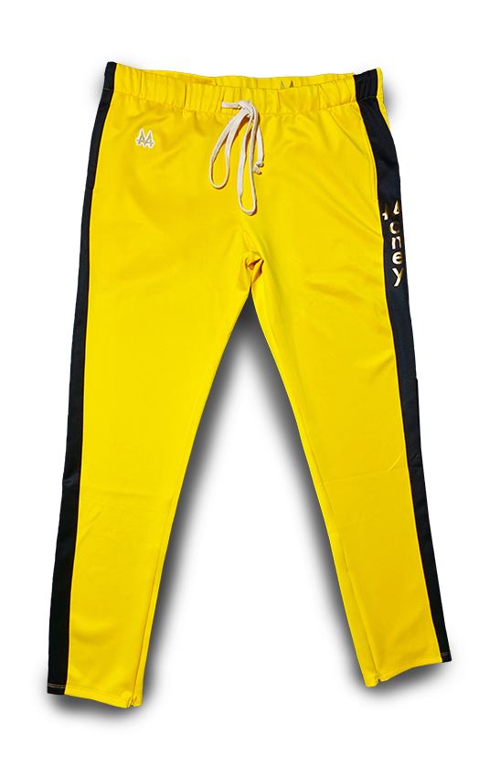 Money Drawstring Pants | Bruce Lee's | 24k Gold - Money by Mark, Athletic Apparel