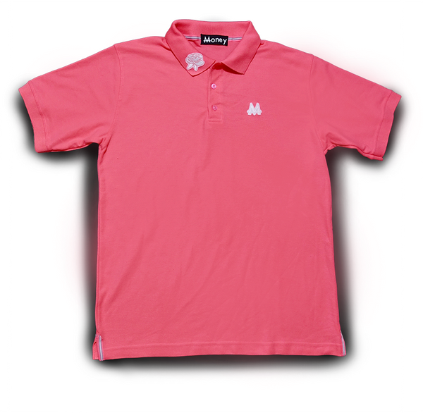 Money Polo | Pink | White | - Money by Mark, Shirt
