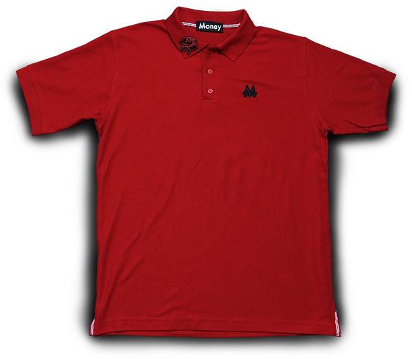Money Polo | Red| Black | - Money by Mark, Shirt