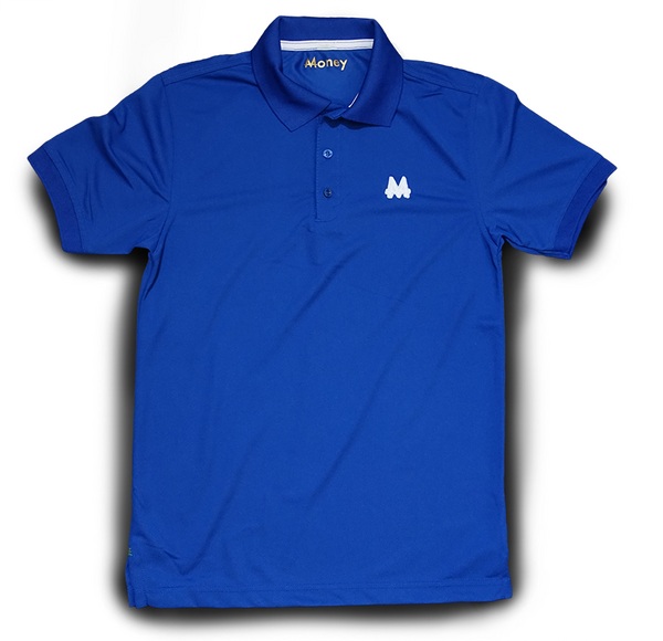 Money Sports Polo | Blue | White | - Money by Mark, Shirt