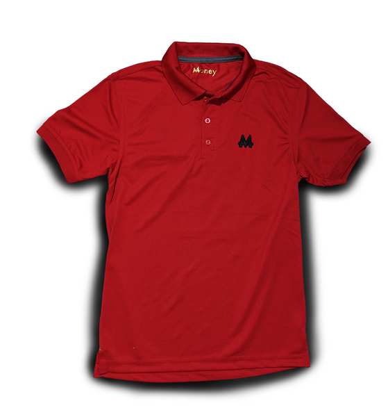 Money Sports Polo | Red | Black | - Money by Mark, Shirt