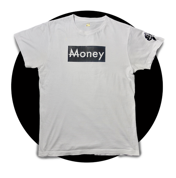 Money Tee | Wht. | Yang