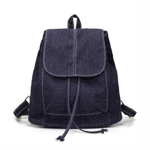 Soft Denim Women Backpack