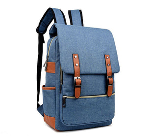 Vintage Canvas 15 inch Laptop Backpack