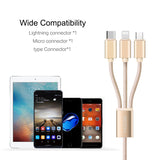 3-in-1 USB charging cable - love myself deals