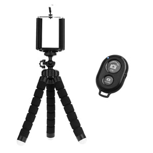 Portable and Flexible Mount/Stand/Holder for iPhone, Android, Tripod, Sports Camera.