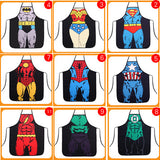 Fun Superhero Aprons for the Super Chef in your life! - love myself deals
