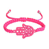 Fluorescent Hamsa Hand Bracelet & Bangle. - love myself deals