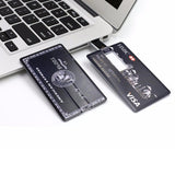 Credit card USB 2.0 Memory Stick Flash Drive. - love myself deals