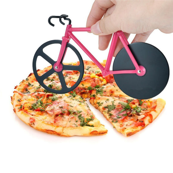 Stainless Steel Bicycle Pizza scissors. - love myself deals