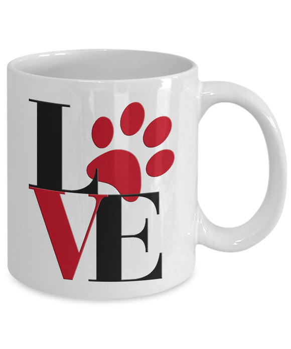PAW LOVE-MUG - love myself deals