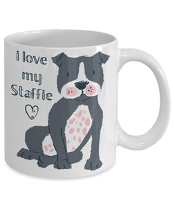 I LOVE MY STAFFIE-MUG - love myself deals