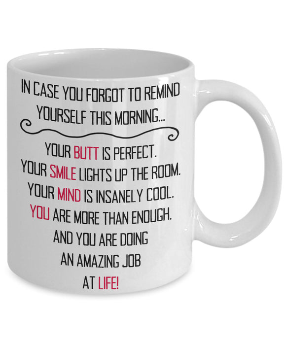 YOU ARE DOING AN AMAZING JOB AT LIFE-MUG - love myself deals