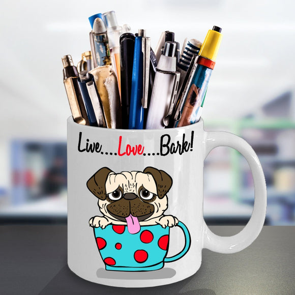 LIVE LOVE BARK-MUG - love myself deals