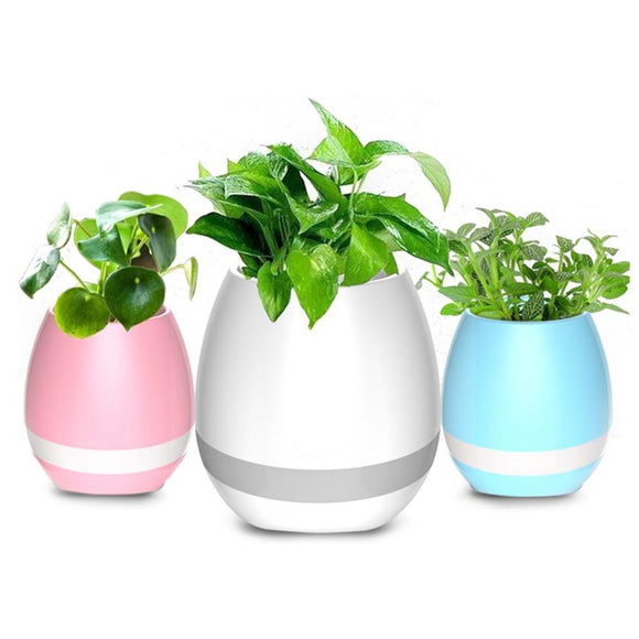 4 in 1 Bluetooth Singing Flowerpot. - love myself deals