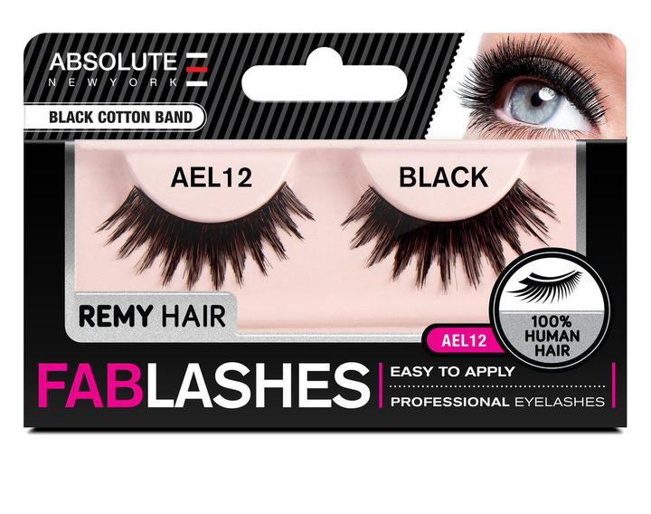 ABNY REMY FABLASHES BLACK COTTON BAND AEL12 - GABBY'S HAIR