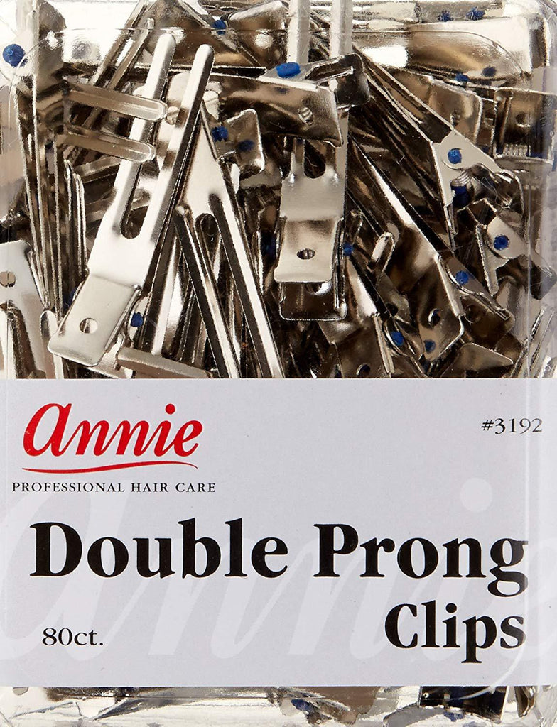 Annie Metal Double Prongs 80ct - GABBY'S HAIR