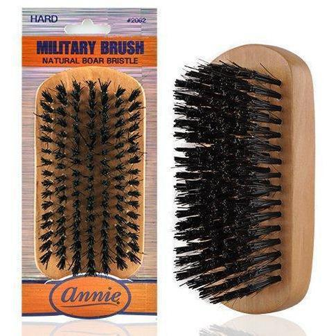 ANNIE MILITARY BRUSH #2062 - GABBY'S HAIR