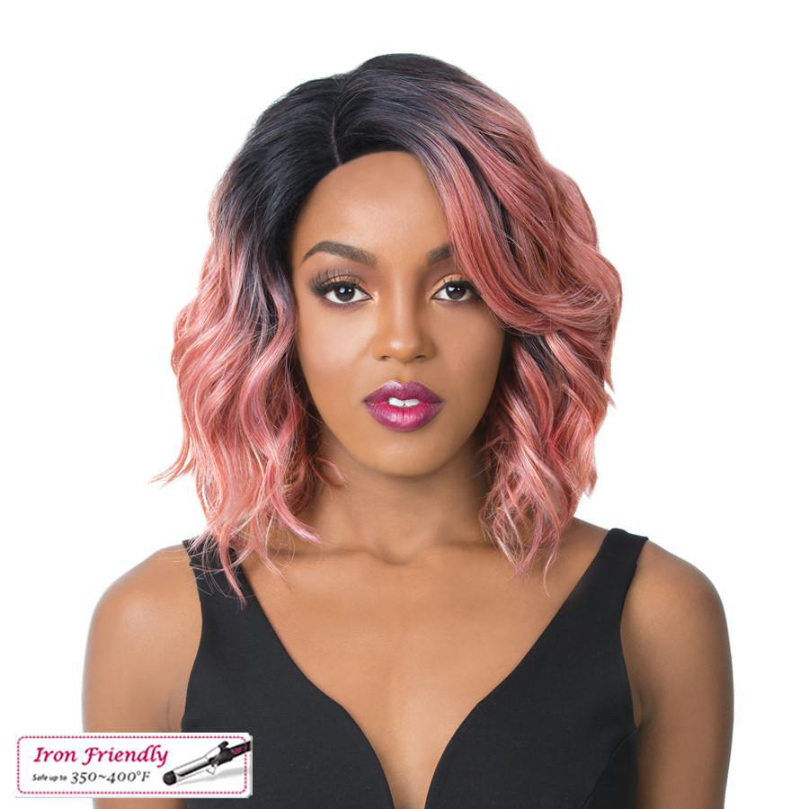IT'S A WIG - SWISS LACE GLANAGE TT PINK - GABBY'S HAIR