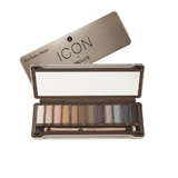 ICON BY ABSOLUTE NEW YORK EYESHADOW PALETTE - SMOKED AIEP04 - GABBY'S HAIR