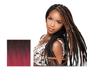 "SENSATIONNEL SYNTHETIC KANEKALON BRAIDS AFRICAN COLLECTION XPRESSION 46""  S1b/bg - GABBY'S HAIR"
