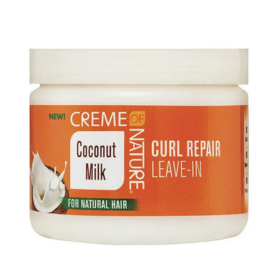 Creme of Nature Coconut Milk Curl Repair Leave-in - GABBY'S HAIR