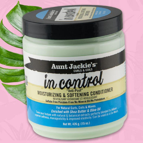 Aunt Jackie's In Control – Moisturizing & Softening Conditioner - GABBY'S HAIR