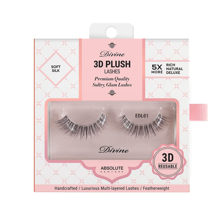 ABNY DIVINE 3D PLUSH LASHES EDL06 THELMIS - GABBY'S HAIR