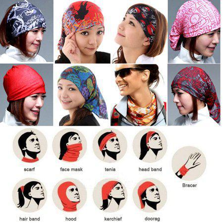 Multi Scarf Head Wear