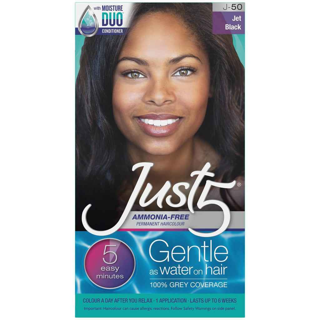 JUST5 5-Minute Hair Color JET BLACK J-50 - GABBY'S HAIR
