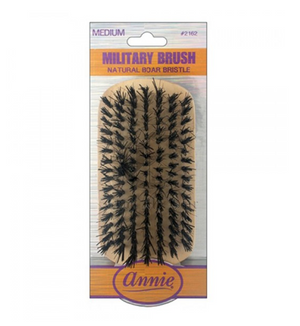 ANNIE MEDIUM MILITARY BRUSH #2162 - GABBY'S HAIR