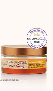 Creme Of Nature PURE HONEY Moisture Infusion Edge Control - GABBY'S HAIR