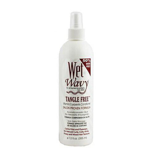 Wet & Wavy Vitamin E Leave-in Conditioner For all Human & Synthetic Hair Styles - GABBY'S HAIR