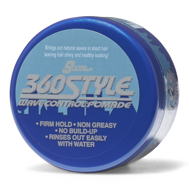 S Curl 360Style Wave Control Pomade