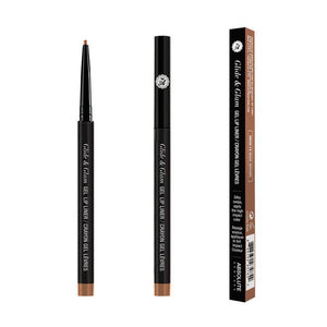 ABNY GLIDE & GLAM GEL LIP LINER NUDE BROWN MDGL14 - GABBY'S HAIR
