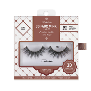 ABNY DIVINE 3D MINK LASHES EDL11 TYCHE - GABBY'S HAIR