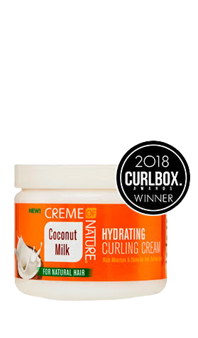 Creme Of Nature Coconut Milk Curl Hydrating Curling Cream - GABBY'S HAIR