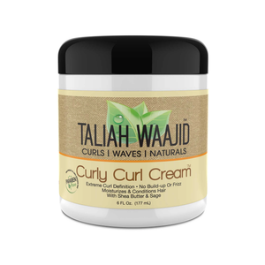 Taliah Waajid Curls, Waves, & Naturals Curly Curl Cream 6 oz. - GABBY'S HAIR