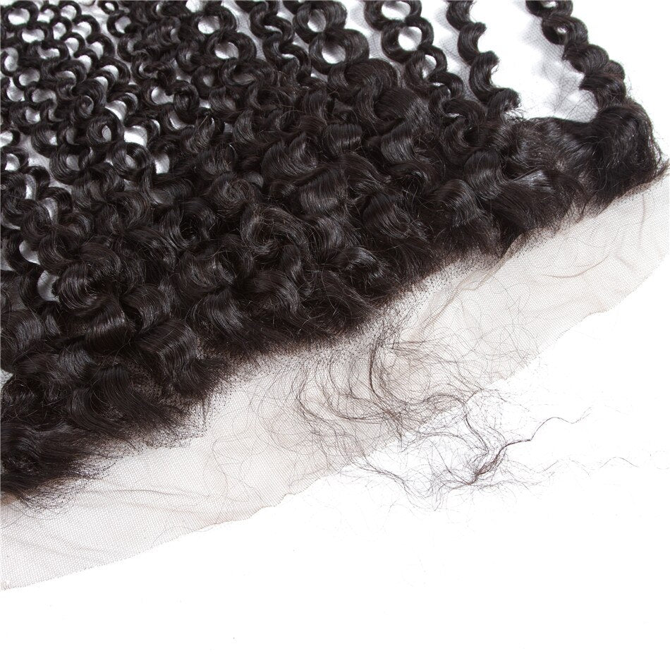 Gabby's Virgin Curly 13x4 Frontal - GABBY'S HAIR