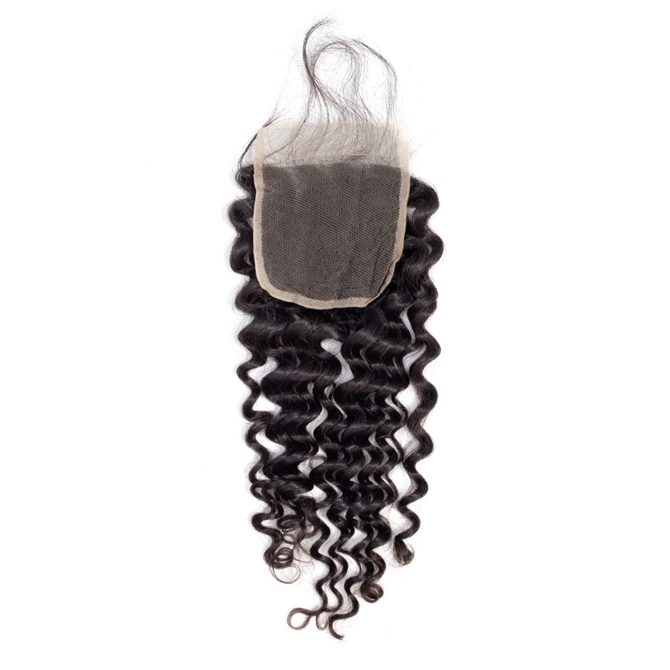 Gabby's Virgin Deep Wave 4x4 Closure - GABBY'S HAIR
