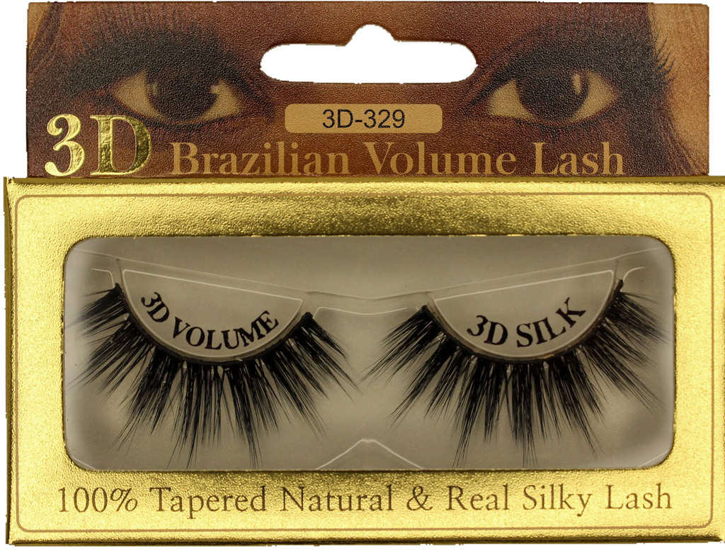 3D Mink Brazilian Volume Eyelash 3D-329 - GABBY'S HAIR