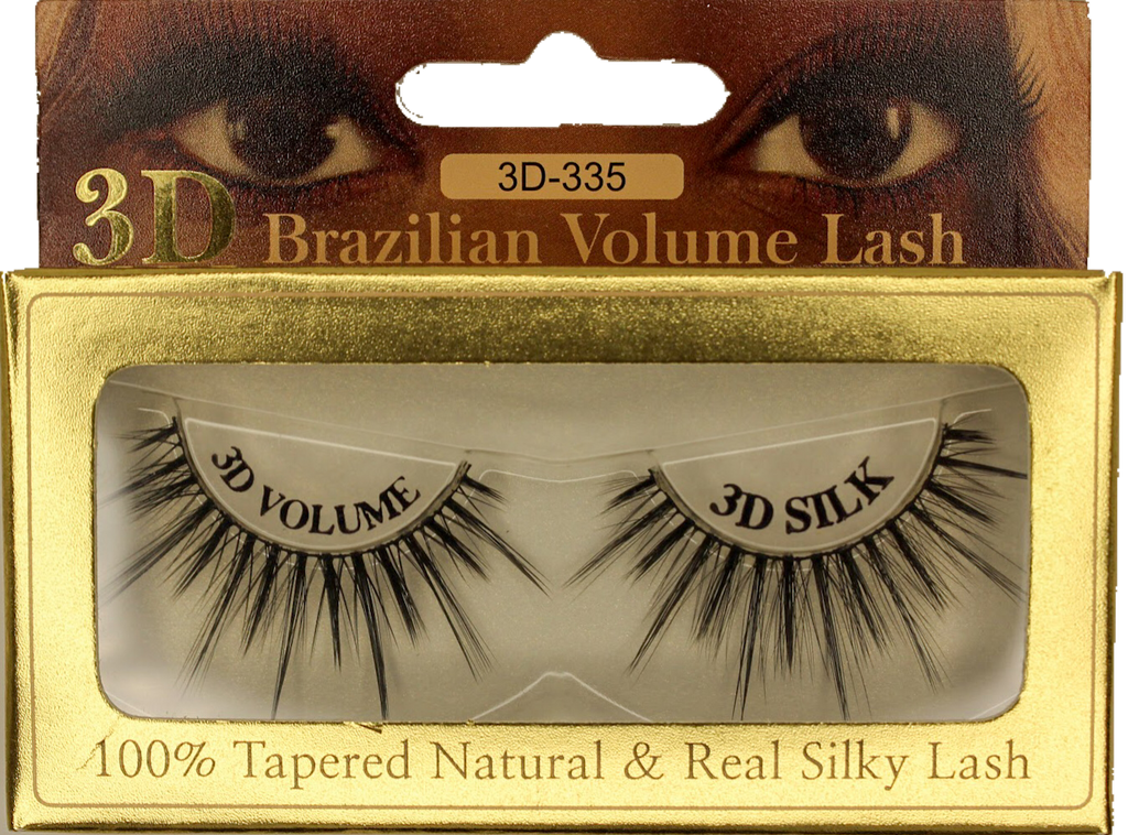 3D Mink Brazilian Volume Eyelash 3D-335 - GABBY'S HAIR