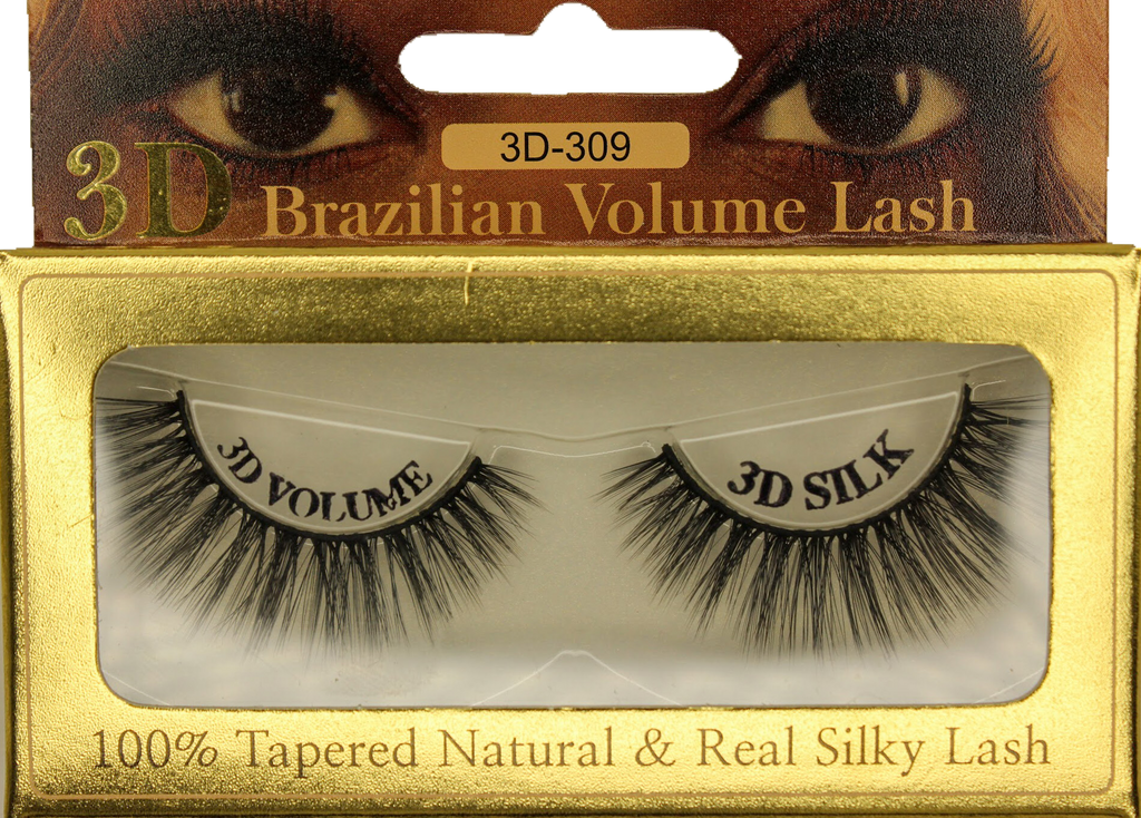 3D Mink Brazilian Volume Eyelash 3D-309 - GABBY'S HAIR